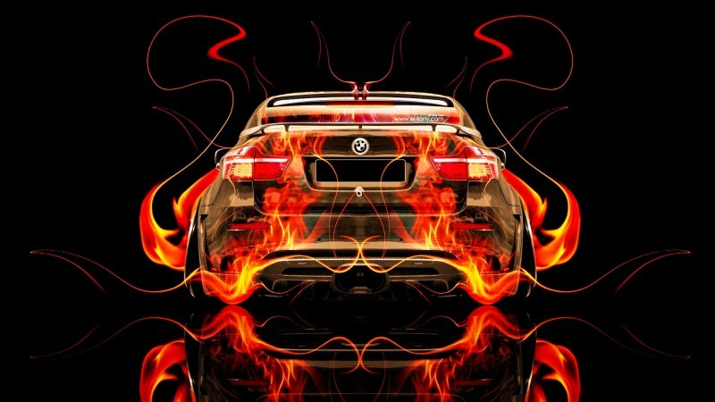 Design Talent Showcase - El-Tony.com Brings Sensual Elements Fire and Water to YOUR Car Wallpapers 3