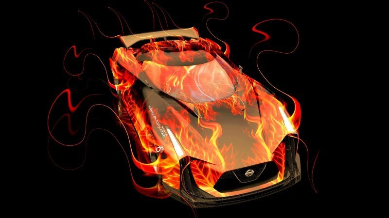 Design Talent Showcase - El-Tony.com Brings Sensual Elements Fire and Water to YOUR Car Wallpapers 32