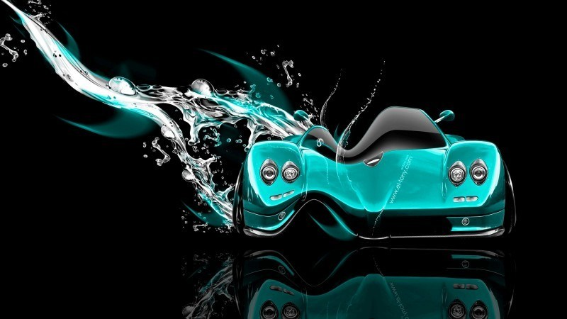 Design Talent Showcase - El-Tony.com Brings Sensual Elements Fire and Water to YOUR Car Wallpapers 35