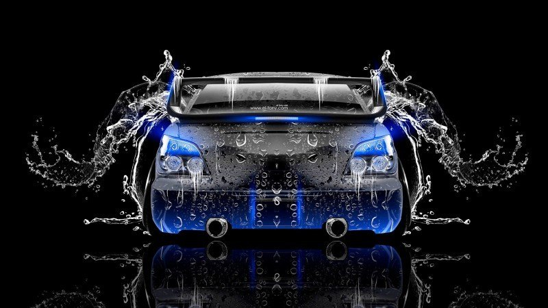 Design Talent Showcase - El-Tony.com Brings Sensual Elements Fire and Water to YOUR Car Wallpapers 37