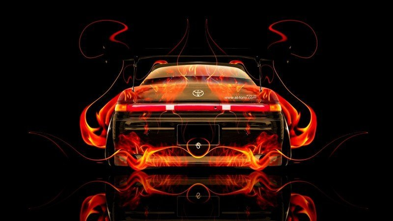 Design Talent Showcase - El-Tony.com Brings Sensual Elements Fire and Water to YOUR Car Wallpapers 39