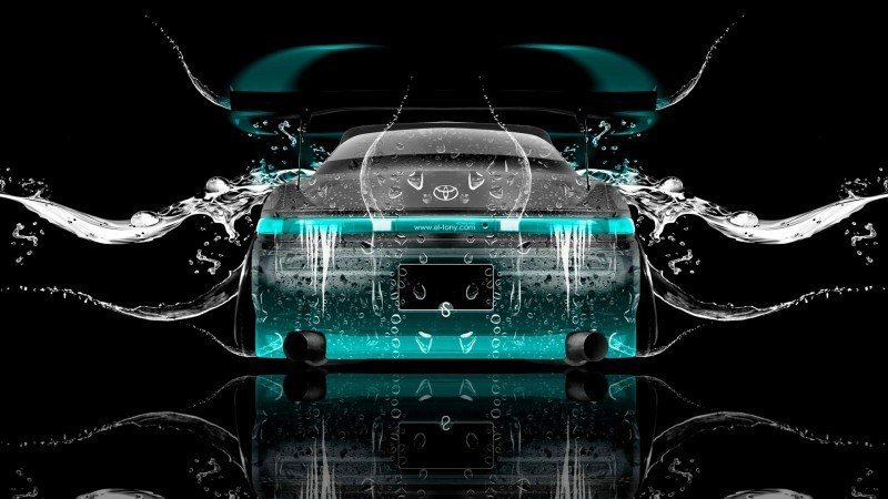 Design Talent Showcase - El-Tony.com Brings Sensual Elements Fire and Water to YOUR Car Wallpapers 40