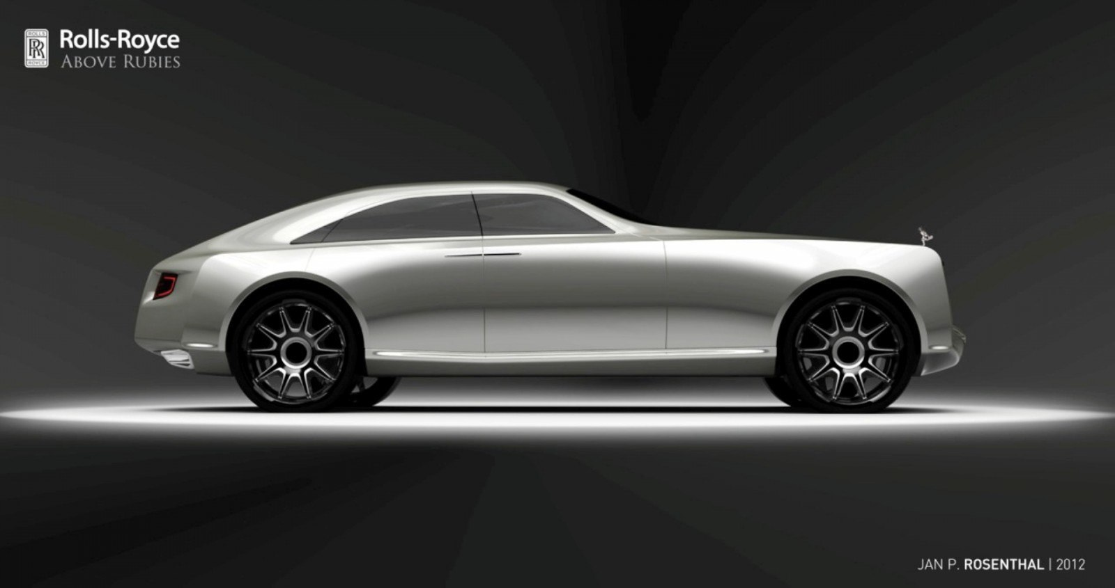 Design Talent Showcase - Jan Rosenthal's 2023 Rolls-Royce Concept Wins Official RCA Contest 1