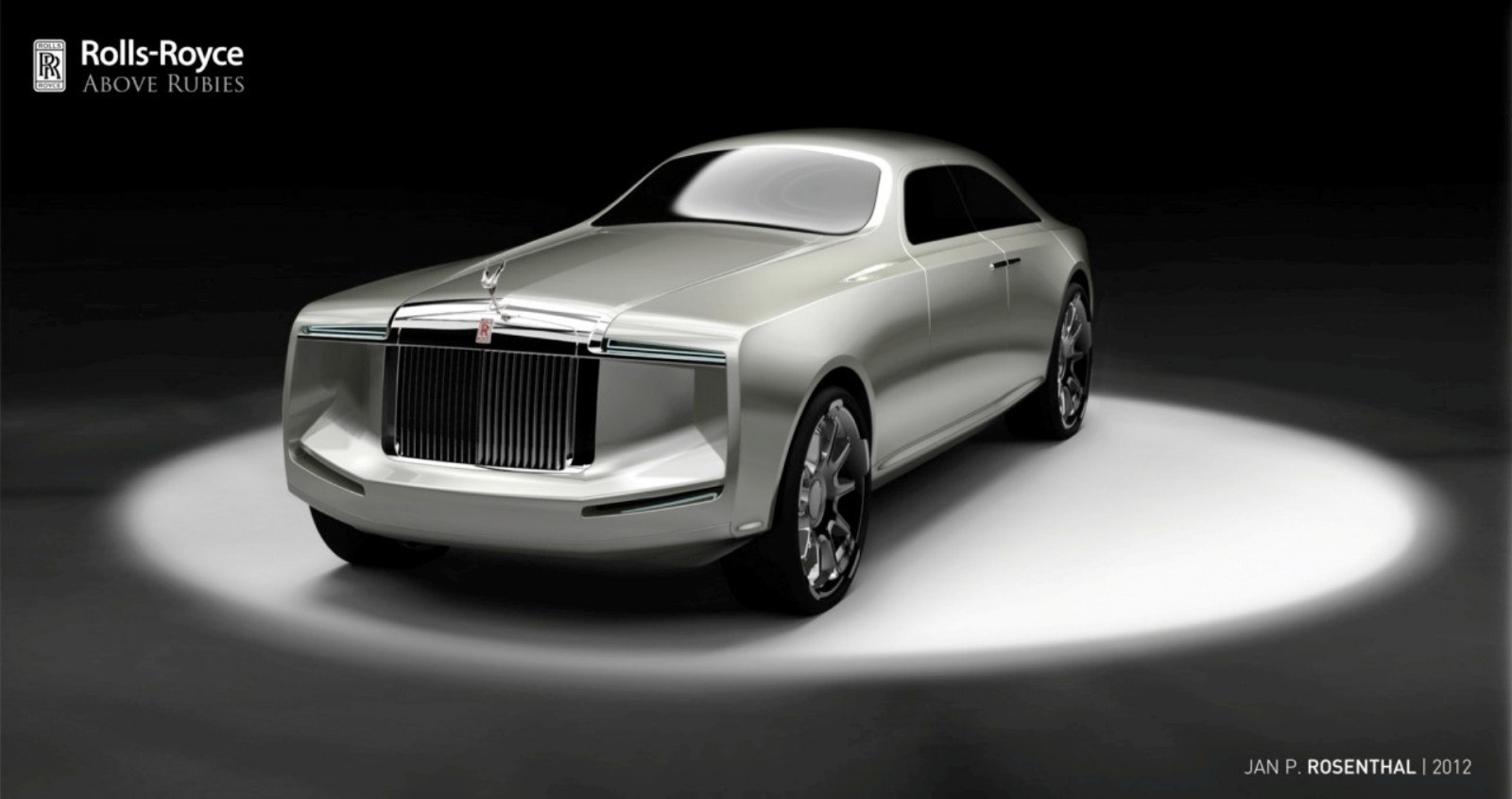 Design Talent Showcase - Jan Rosenthal's 2023 Rolls-Royce Concept Wins Official RCA Contest 10