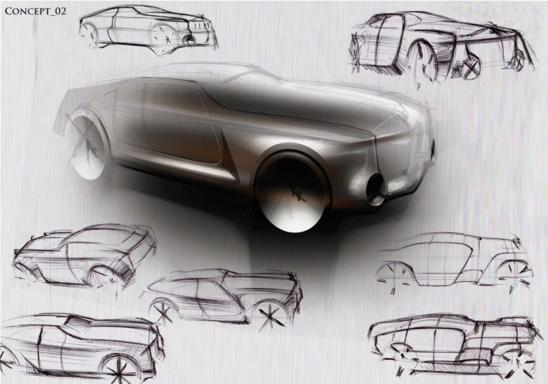 Design Talent Showcase - Jan Rosenthal's 2023 Rolls-Royce Concept Wins Official RCA Contest 15