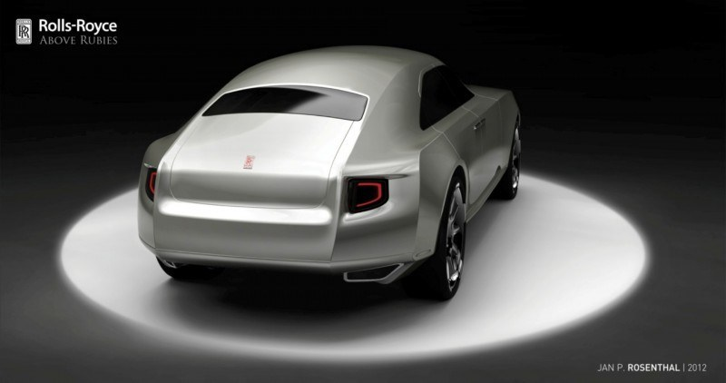 Design Talent Showcase - Jan Rosenthal's 2023 Rolls-Royce Concept Wins Official RCA Contest 5