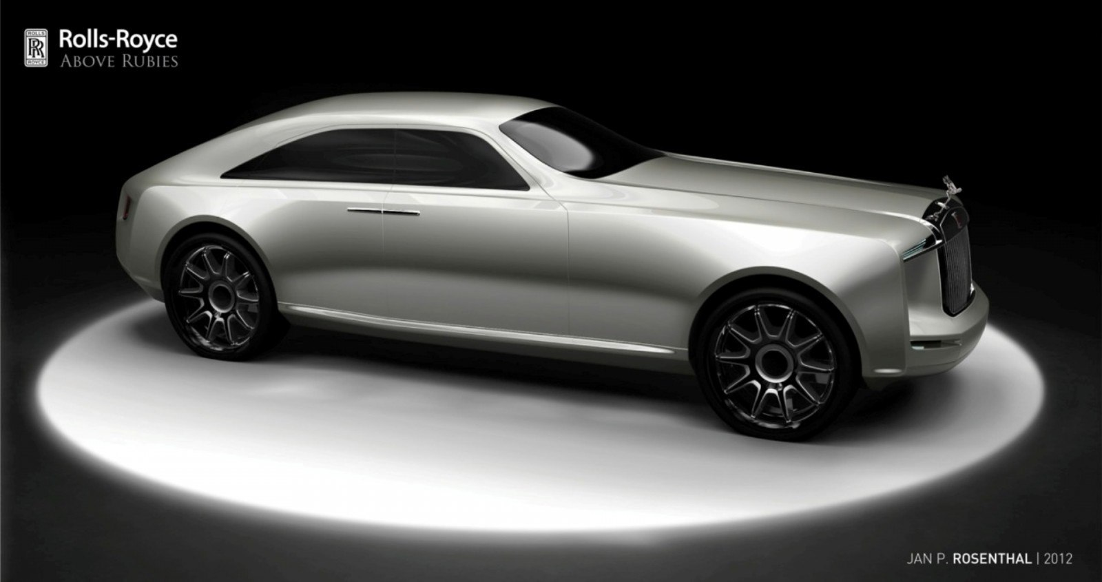 Design Talent Showcase - Jan Rosenthal's 2023 Rolls-Royce Concept Wins Official RCA Contest 7