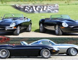 2017 EAGLE Spyder GT – Third Bespoke E-Type Creation – Much Faster than Speedster, Plus First-Ever Ragtop!