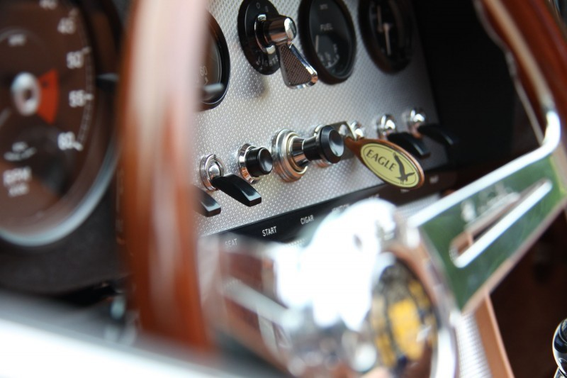 Eagle Spyder GT close dash detail