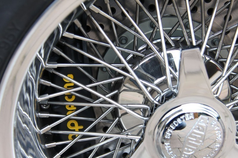 Eagle wheel and brake detail