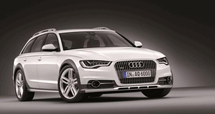 Euro Wagon Envy - 2014 Audi A6 Allroad  EXTERIOR Studio GIF