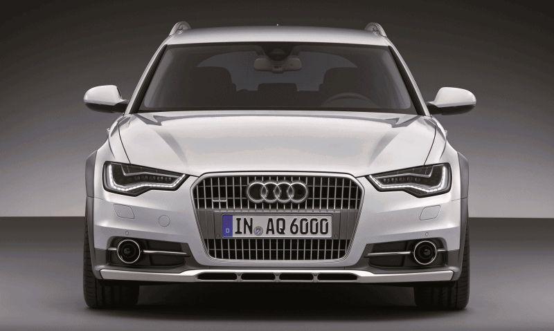 Euro Wagon Envy - 2014 Audi A6 Allroad  Headlights Taillights GIF