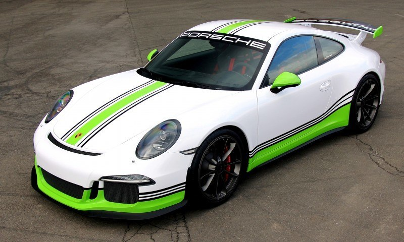 FOSTLA.de Shows Artful Porsche 911 GT3 Foil Wrap Design and Execution 10