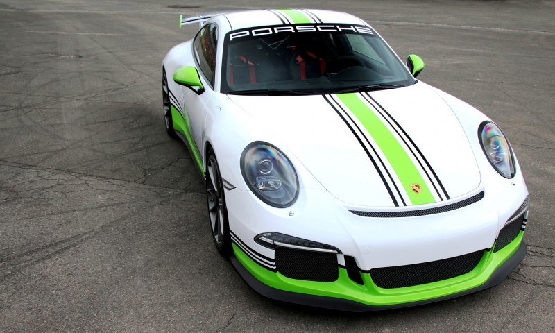 FOSTLA.de Shows Artful Porsche 911 GT3 Foil Wrap Design and Execution 3