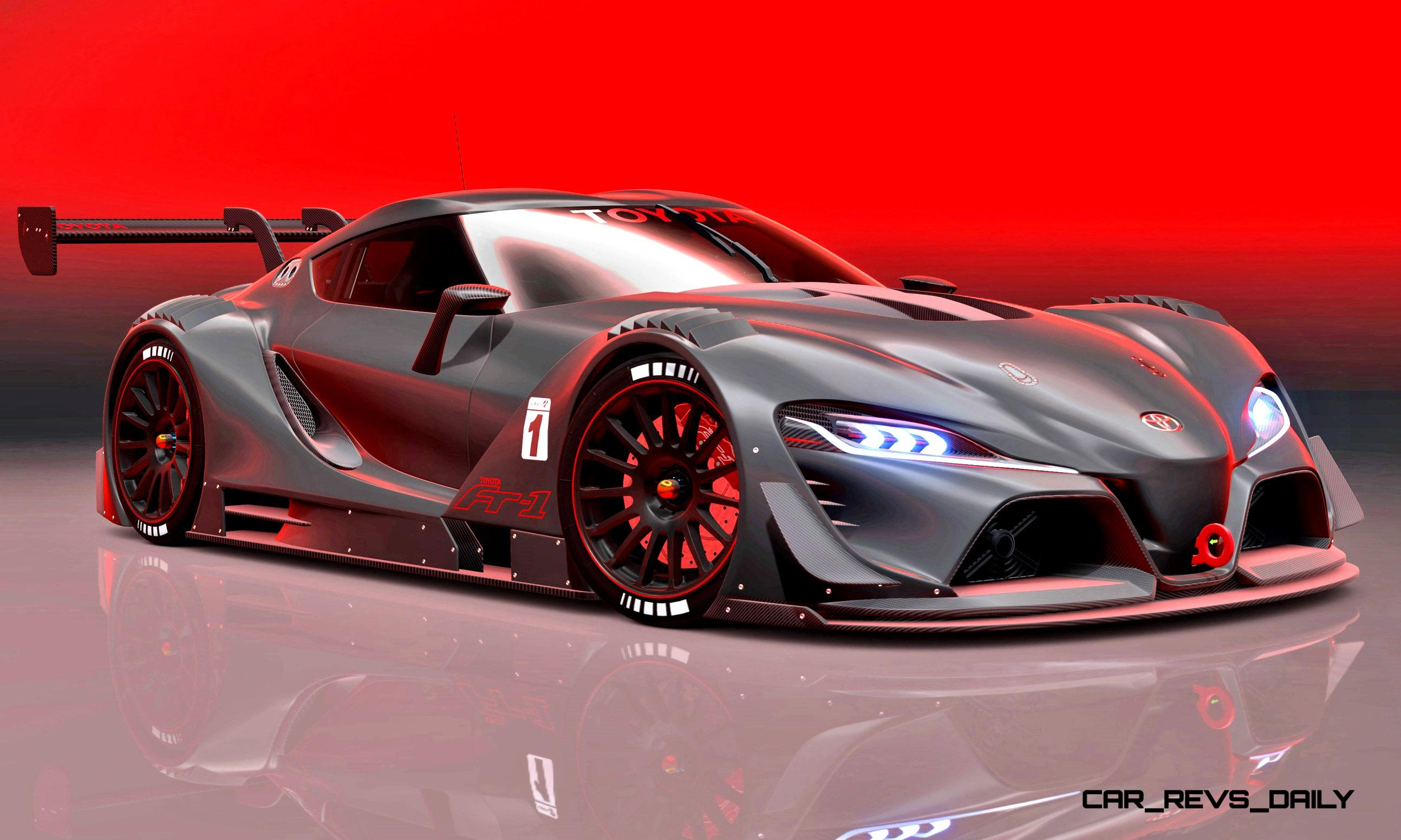 Toyota Ft 1 Vision Gt Now Playable In Gran Turismo 100