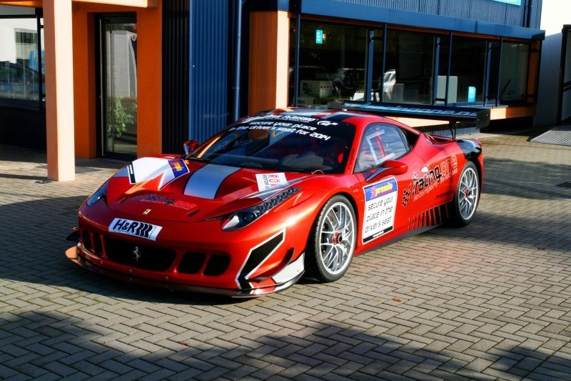 Ferrari 458 Competition by RacingOne Is Hardcore GT3 Track Attacker 17