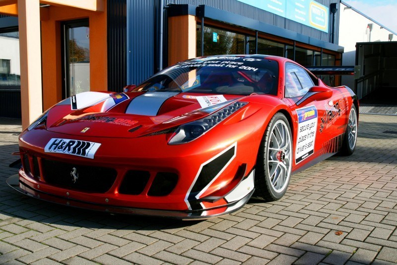 Ferrari 458 Competition by RacingOne Is Hardcore GT3 Track Attacker 20