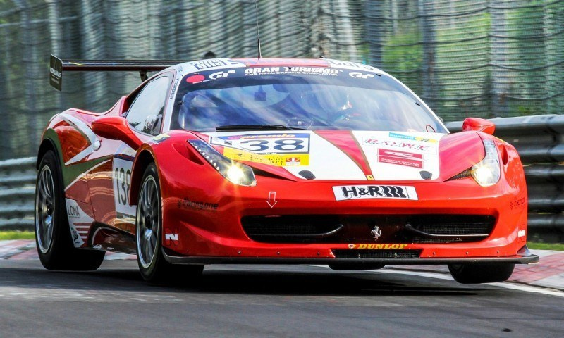 Ferrari 458 Competition by RacingOne Is Hardcore GT3 Track Attacker 25