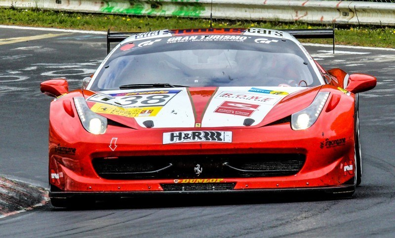 Ferrari 458 Competition by RacingOne Is Hardcore GT3 Track Attacker 26
