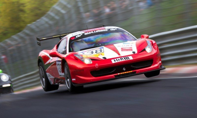 Ferrari 458 Competition by RacingOne Is Hardcore GT3 Track Attacker 4