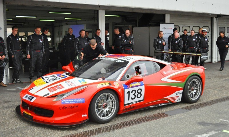 Ferrari 458 Competition by RacingOne Is Hardcore GT3 Track Attacker 7