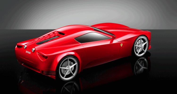 Ferrari Pininfarin design contest GIF1