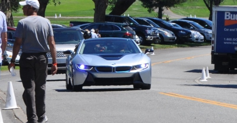 First 2014 BMW i8 Owners Take Delivery in Posh Pebble Beach Experience 2