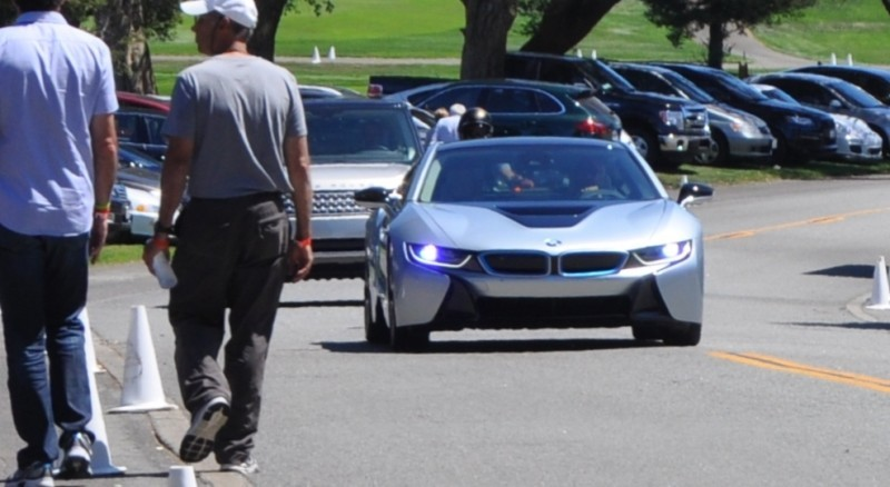 First 2014 BMW i8 Owners Take Delivery in Posh Pebble Beach Experience 3