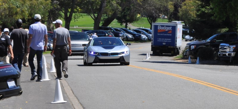 First 2014 BMW i8 Owners Take Delivery in Posh Pebble Beach Experience 4