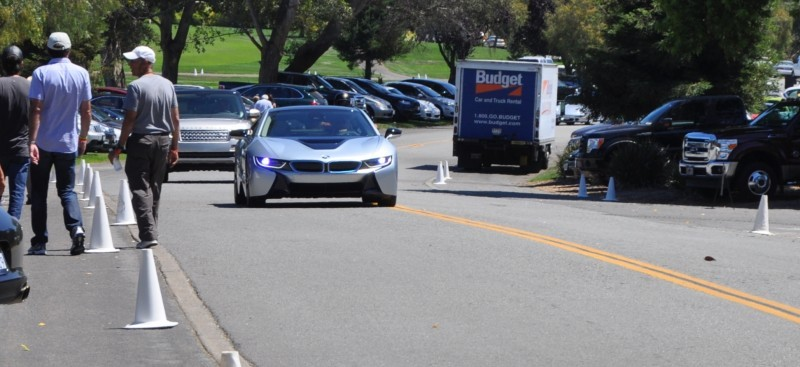 First 2014 BMW i8 Owners Take Delivery in Posh Pebble Beach Experience 5