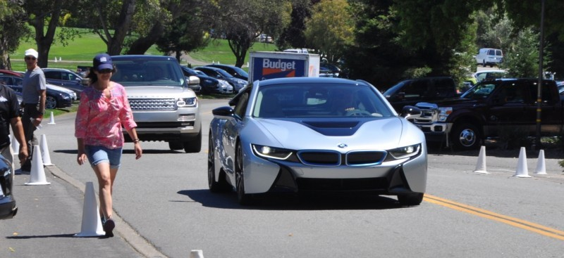 First 2014 BMW i8 Owners Take Delivery in Posh Pebble Beach Experience 7