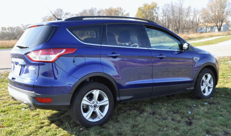 Ford ESCAPE EXTERIOR ANIMATION GIF