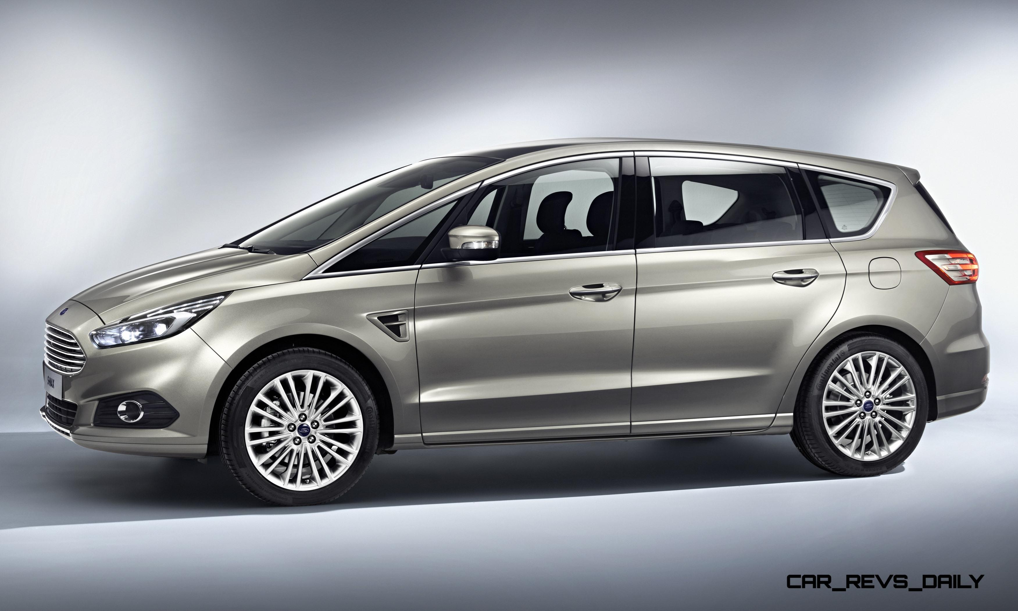 2015 ford s max van adds led lighting and next gen sync in. Black Bedroom Furniture Sets. Home Design Ideas
