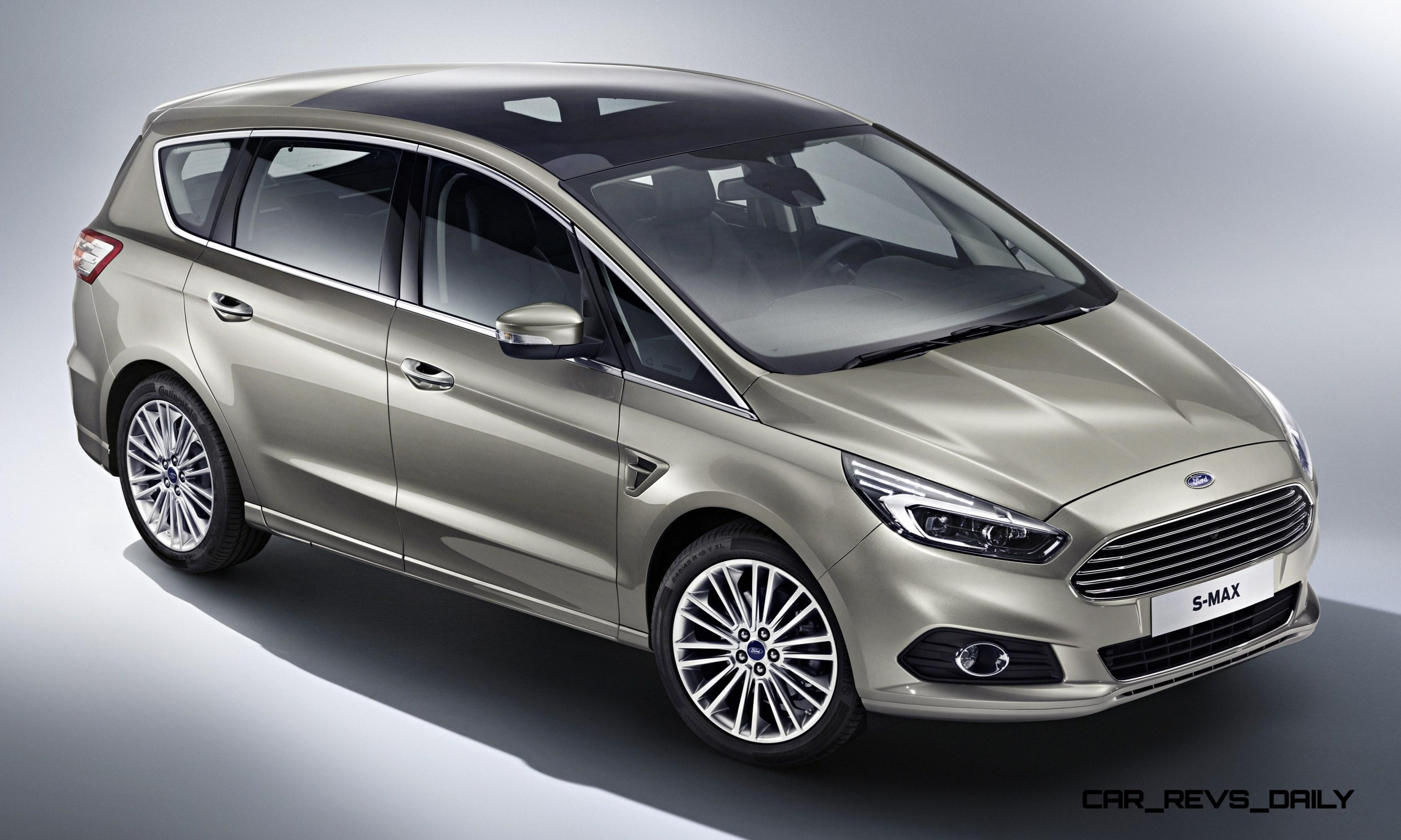 2015 ford s max van adds led lighting and next gen sync in comprehensive redesign. Black Bedroom Furniture Sets. Home Design Ideas