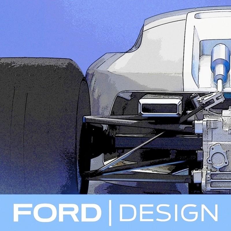 Ford Vision Gran Turismo Seems to Recall the 1996 INDIGO Open-Wheel Supercar Concept 3
