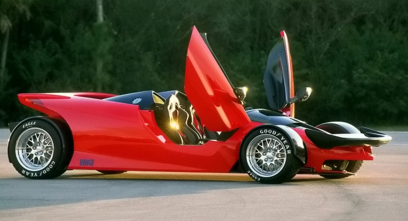 Ford Vision Gran Turismo Seems to Recall the 1996 INDIGO Open-Wheel Supercar Concept 4