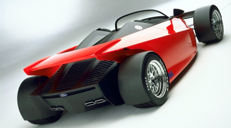 Ford Vision Gran Turismo Seems to Recall the 1996 INDIGO Open-Wheel Supercar Concept 5