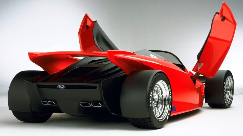 Ford Vision Gran Turismo Seems to Recall the 1996 INDIGO Open-Wheel Supercar Concept 6