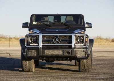 Future Truck Rendering - 2016 Mercedes-Benz G63 AMG Black Series 1