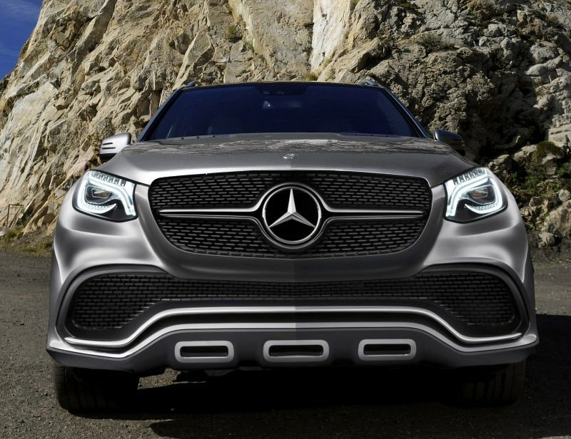 Future Truck Rendering - 2016 Mercedes-Benz ML63 AMG Expected To Adopt Beijing Concept Coupe SUV Nose and Tail 1