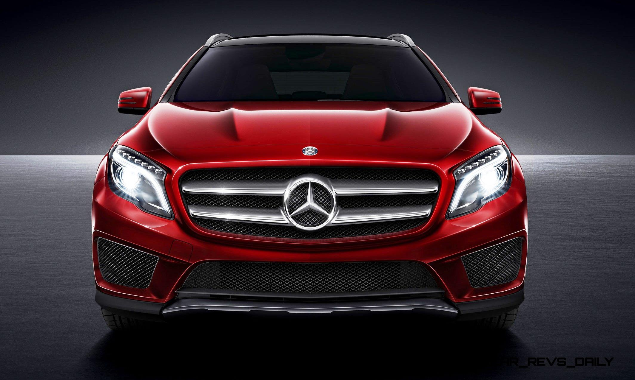 First Drive Review - 2016 Mercedes-Benz GLA250 4MATIC