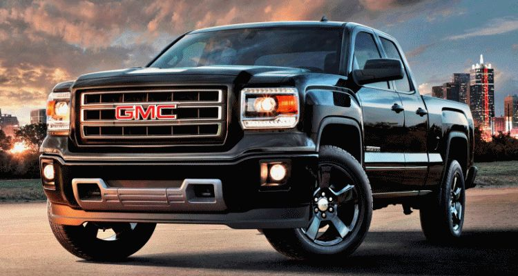 GMC Sierra elevation and carbon gif