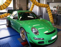 Porsche 911 GT3 RS by KAEGE Track Attack Pack: Exhaust, Carbon Intake and Liteblox Li-ion Battery