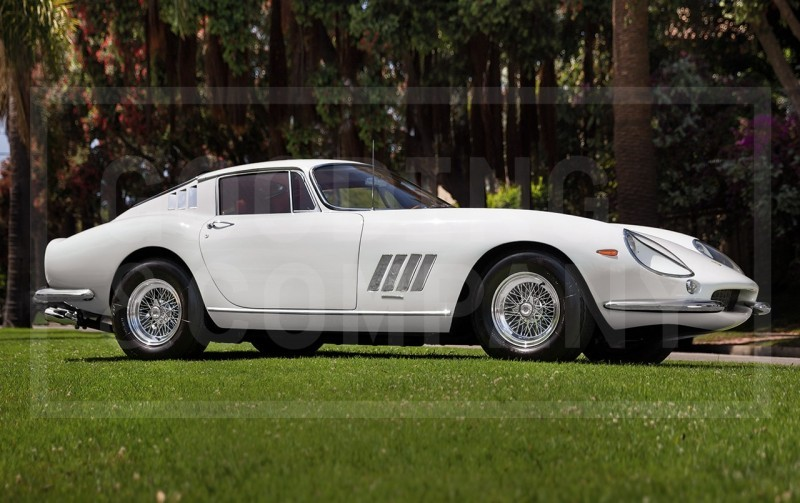 Gooding Pebble Beach 2014 - 1965 Ferrari 275 GTB Long Nose Alloy Earns $4.6M 1