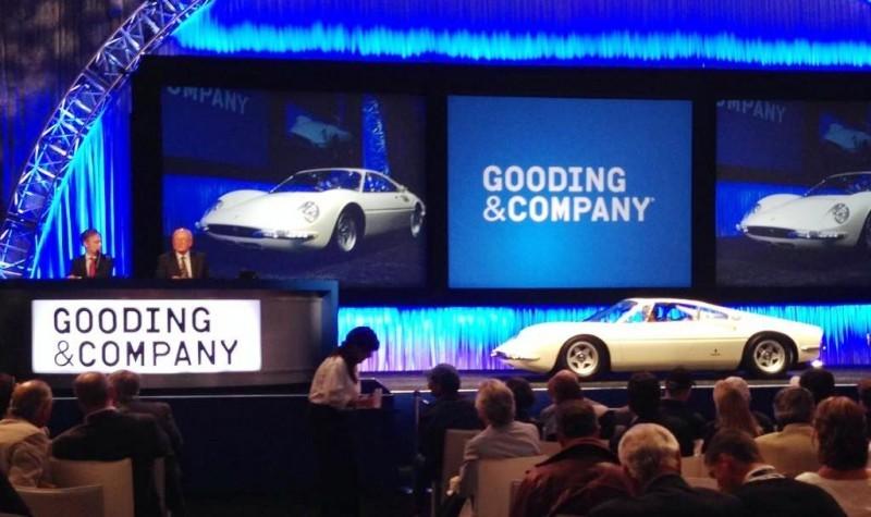 Gooding Pebble Beach 2014 - 1966 Ferrari 365P Tre Posti 1