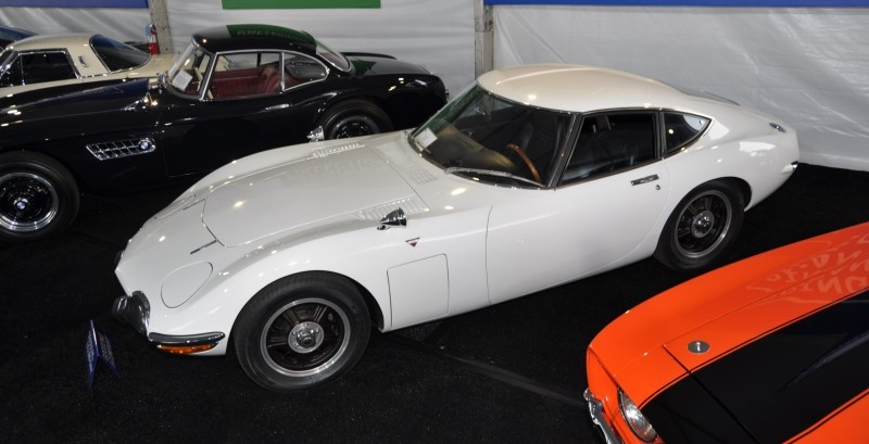 Gooding Pebble Beach 2014 - 1967 Toyota 2000GT in White with Original, US-Delivered Left-Hand-Drive 10