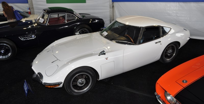 Gooding Pebble Beach 2014 - 1967 Toyota 2000GT in White with Original, US-Delivered Left-Hand-Drive 11