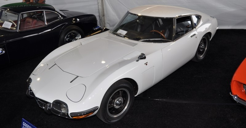 Gooding Pebble Beach 2014 - 1967 Toyota 2000GT in White with Original, US-Delivered Left-Hand-Drive 12