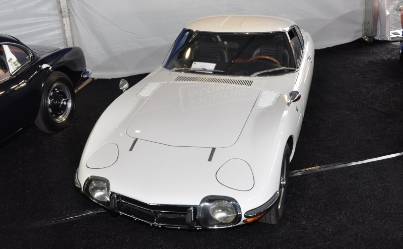 Gooding Pebble Beach 2014 - 1967 Toyota 2000GT in White with Original, US-Delivered Left-Hand-Drive 14