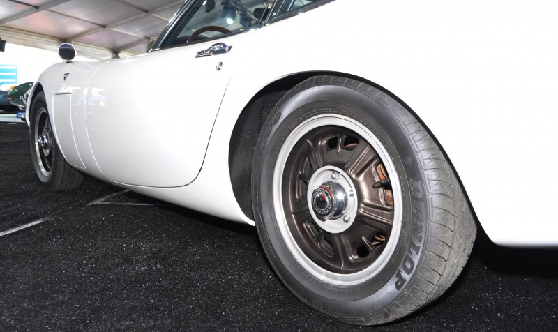 Gooding Pebble Beach 2014 - 1967 Toyota 2000GT in White with Original, US-Delivered Left-Hand-Drive 20